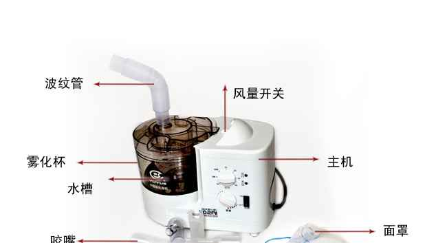鱼跃402ai超声雾化器的使用方法/如何使用